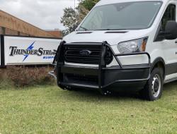 Ford Transit Van 2015 2016 2017 2018 2019 2020 2021 grille guard, brush guard, deer guard, commercial van guard