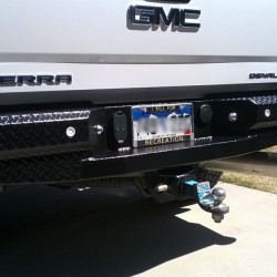 2015-19 Chevy / Gmc Rear Bumper with steps