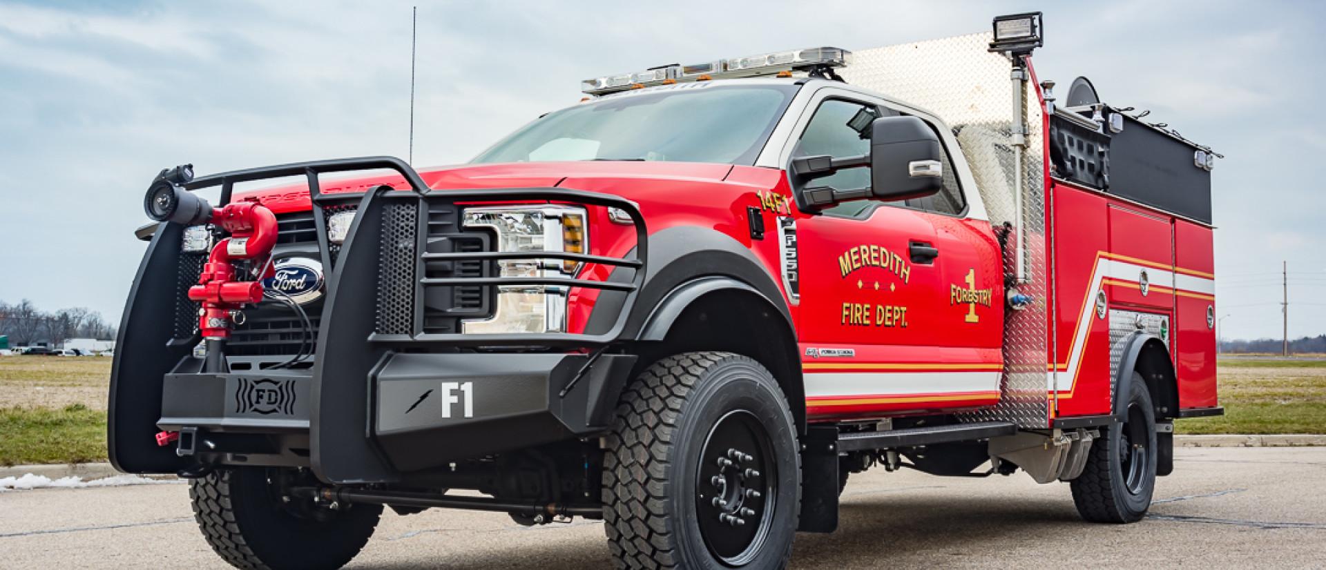 Brush Truck Fire Series Bumper